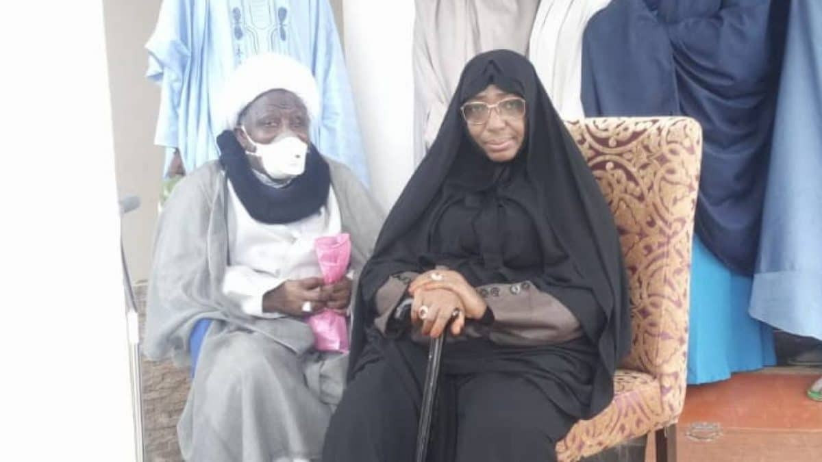 We are unaware that El-Zakzaky's wife, Zeenat tested positive for Coronavirus - Kaduna prison Controller