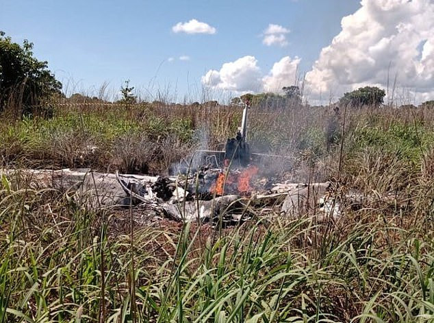 Four players and president of Brazilian fourth-tier club, Palmas, killed in horror plane crash (photos)