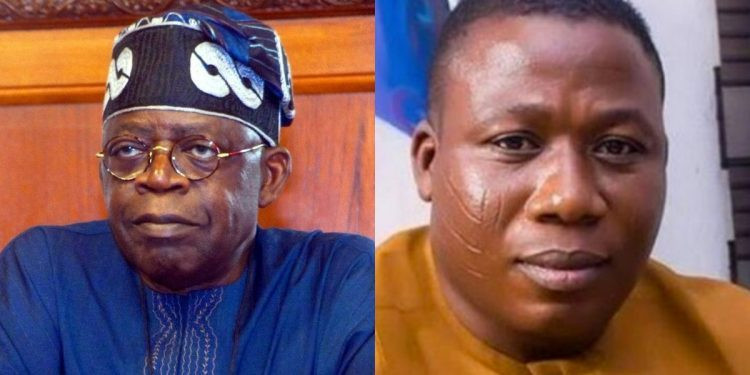 Tinubu gave me N2m to fuel my car in 2009 - Yoruba activist, Sunday Igboho lindaikejisblog