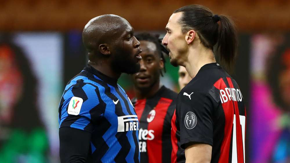 """""""I'll f*ck you and your wife you b*tch""""- Watch Zlatan Ibrahimovic and Lukaku almost come to blows in Milan derby (video)"""