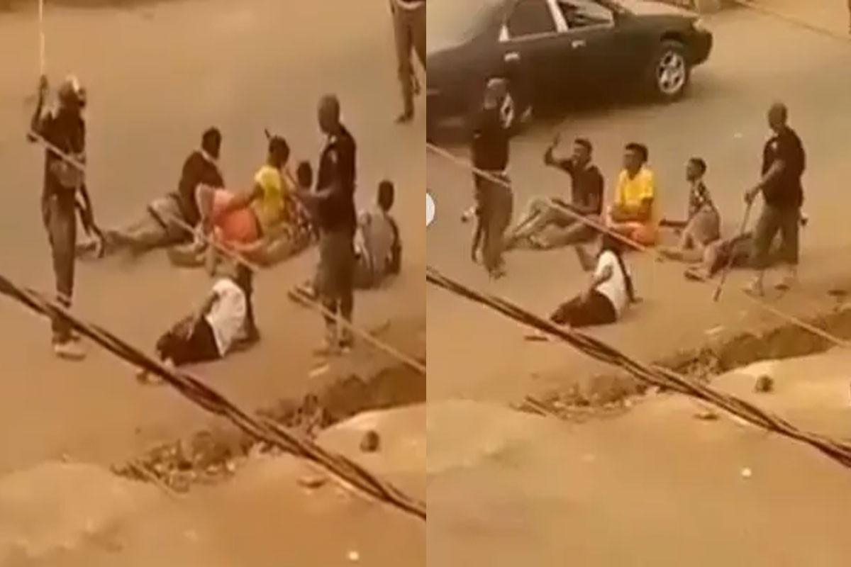 Imo police commissioner orders arrest of policemen spotted in a viral video flogging some young men in Orlu