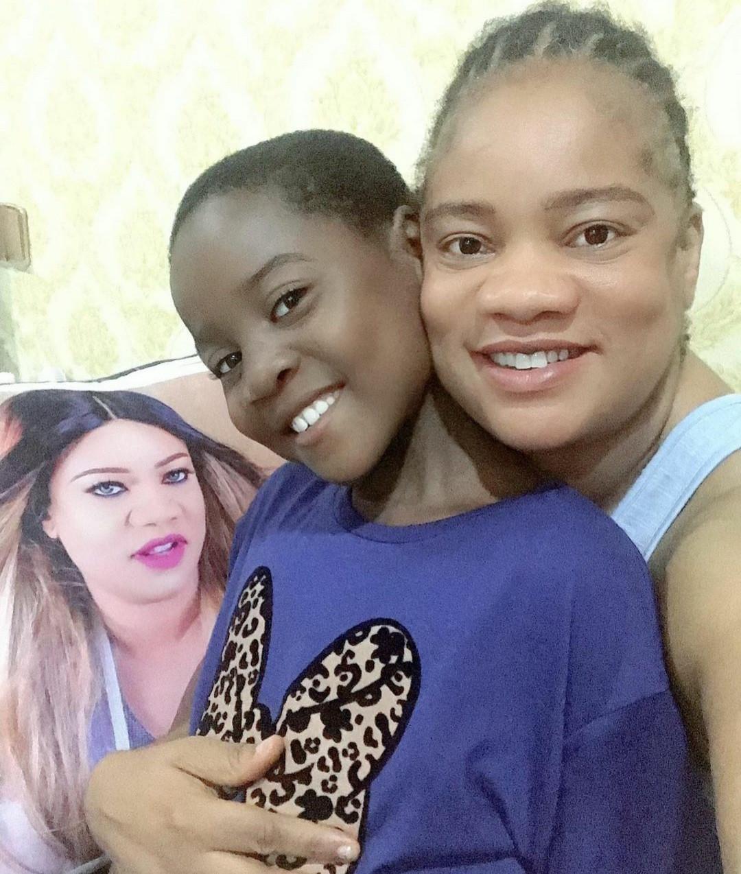 Actress Opeyemi Aiyeola adopts a daughter