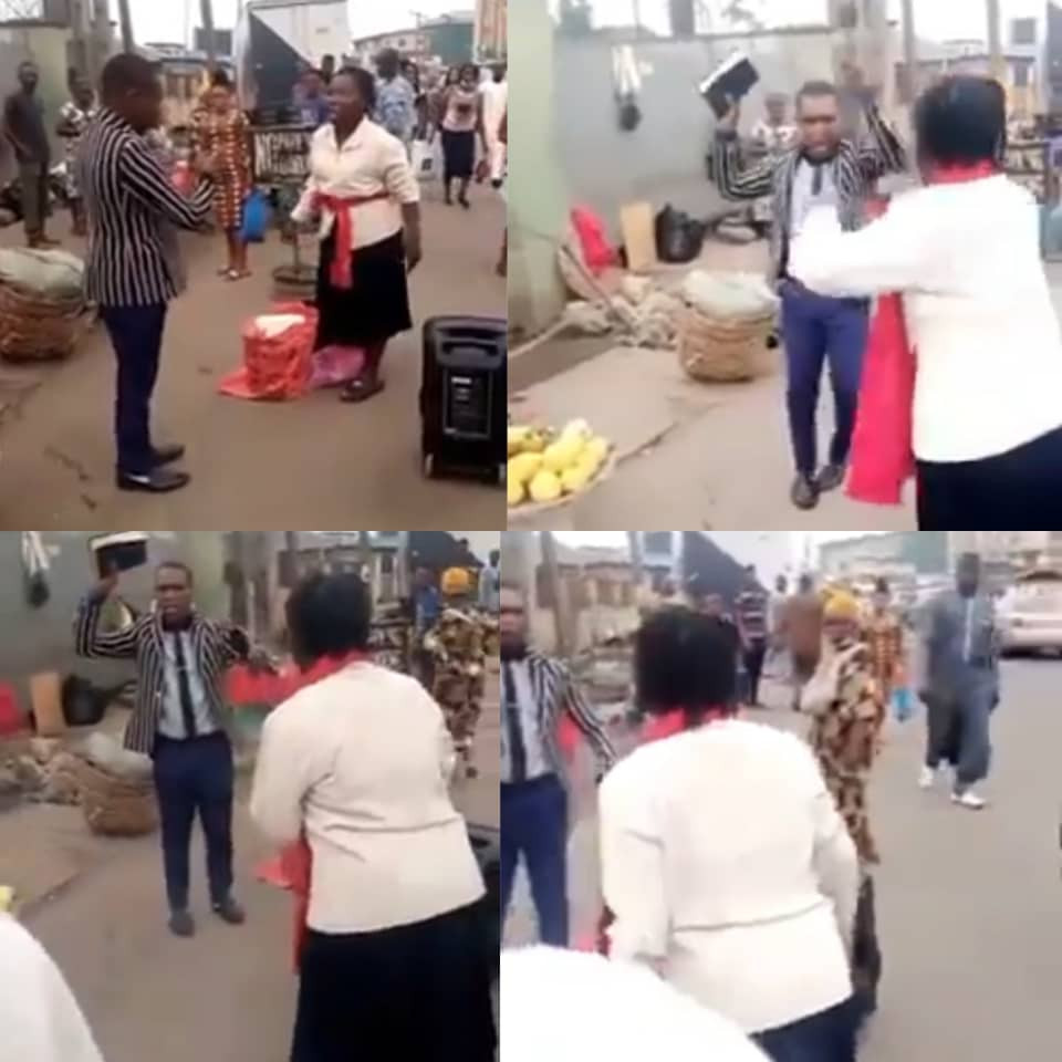 Two preachers fight over preaching spot in Lagos
