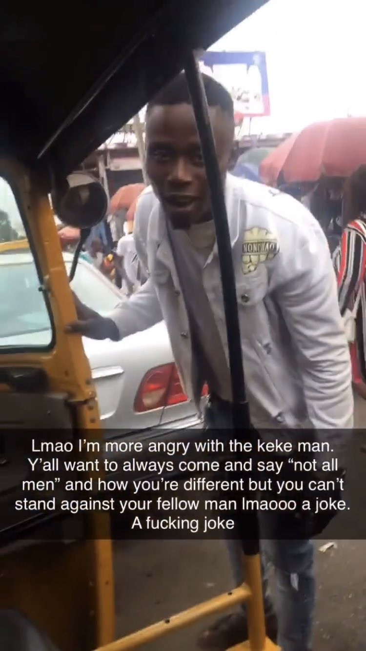 Nigerian lady narrates how she confronted some men who sexually harassed her for wearing a bum short while passing through a market 3