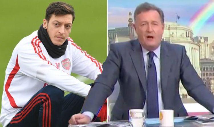 Former Arsenal Star Mesut Ozil mocks Piers Morgan