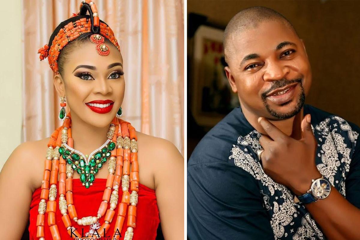 'Woman like no other'' MC Oluomo's son hails Ehi Ogbebor