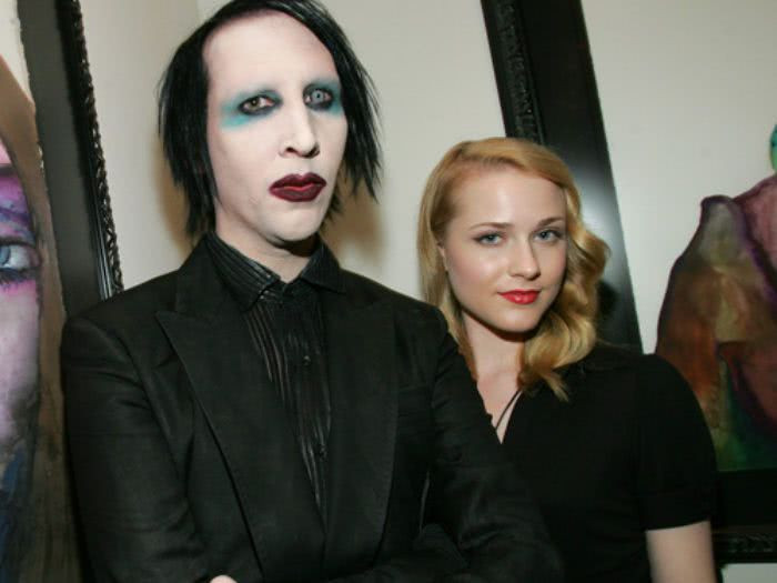 Singer, Marilyn Manson dropped by his record label after his ex-fiancée Evan Rachel Wood and four other women accused him of leaving them with PTSD
