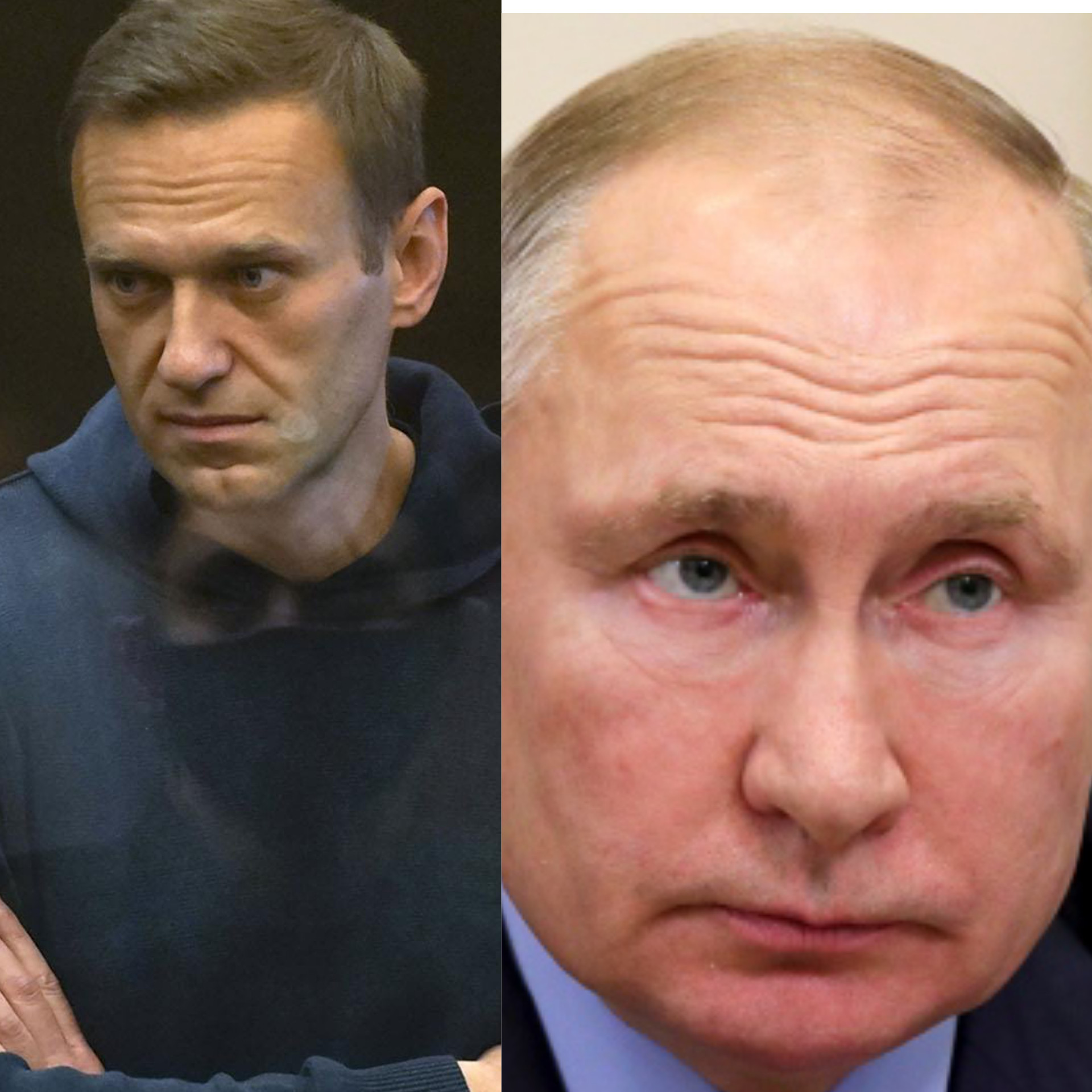 """My main offense to him is that he will go down in history as Putin the Poisoner' - Alexey Navalny says as he is handed new two and half year jail term"