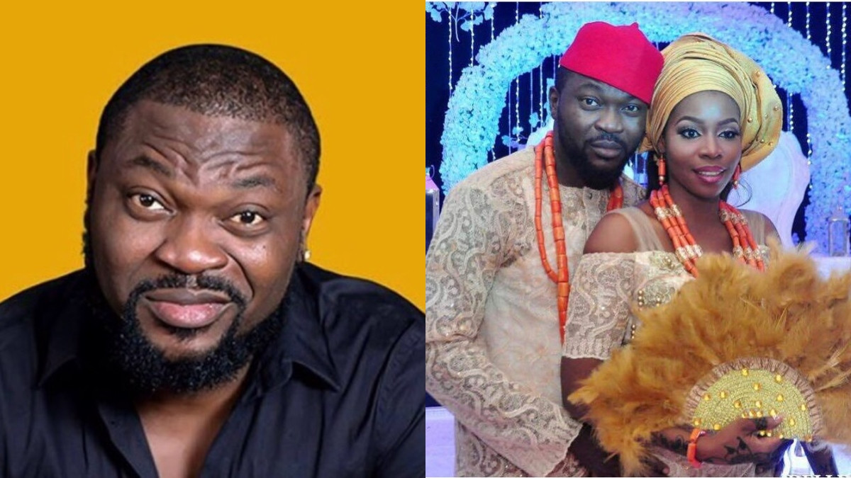 My wife got into an altercation at the estate association presidents house after power in my house was cut off - Comedian Buchi reacts to viral video of wife being arrested
