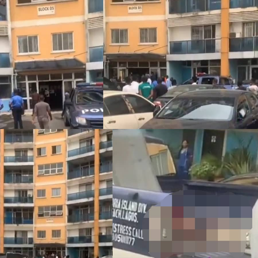 Man reportedly jumps to his death after EFCC stormed 1004 Estate Lagos