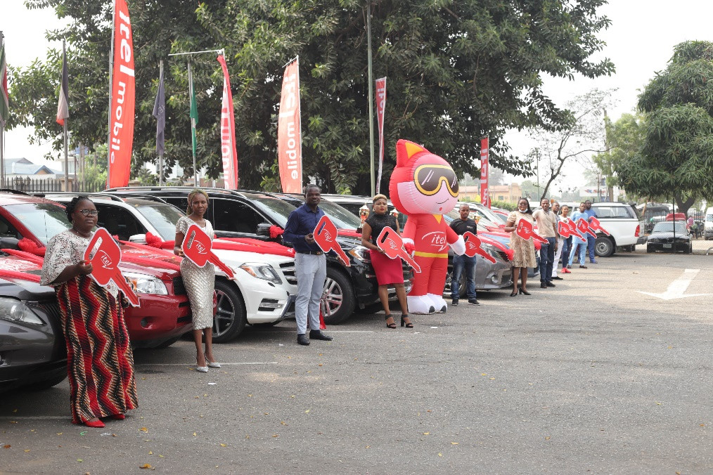 itel Surprises Longtime Customers With Car Rewards