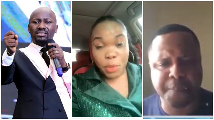 I am the one in the recording, but it was doctored - Apostle Suleman reacts to audio clip released by a former Pastor who accused him of sleeping with his wife