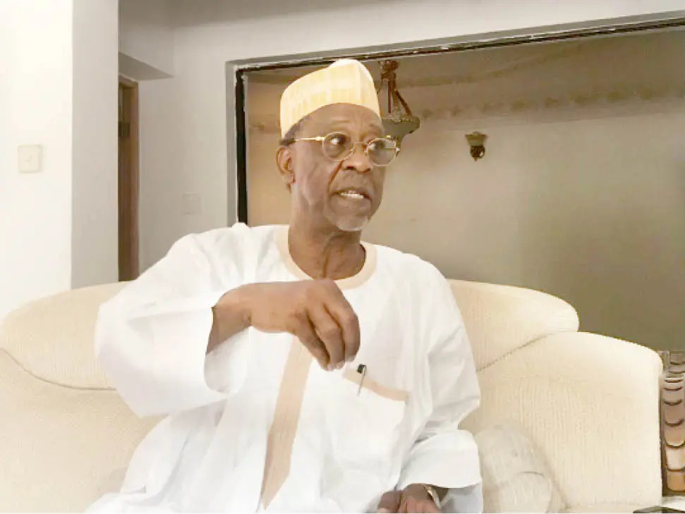 As far as the PDP is concerned, the presidency should return to the North in 2023 - Former Minister of Police Affairs and PDP BoT member, Adamu Maina Waziri