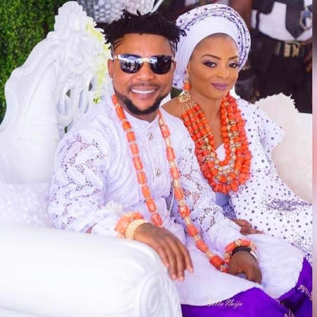 An imbecile came to my house when I went to work to fuck - Oritsefemi's wife Nabila goes off on Instagram rant