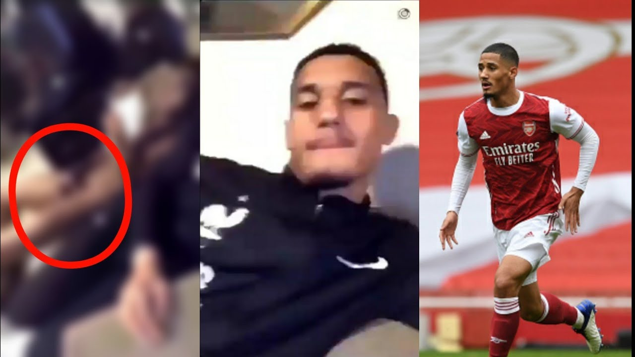 Arsenal star, William Saliba 'faces investigation by the French FA' for allegedly sharing a Snapchat video of a naked team-mate masturbating