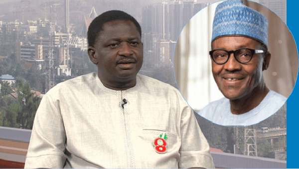 ''Such must be a talkative President'- Femi Adesina says President Buhari cannot speak on every national issue