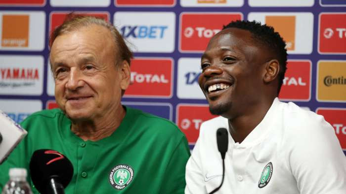 Gernot Rohr says he wants clubless Ahmed Musa to sort out his career before Nigeria's must win AFCON qualifiers
