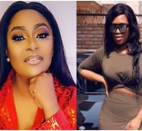 """""""Your ex-husband didn't beat you, stop lying"""" - Sandra Iheuwa continues to drag Victoria Inyama"""