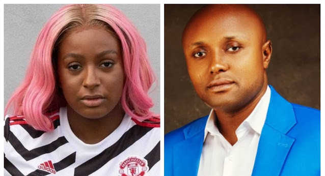 DJ Cuppy's lawyers write Davido's aide, Isreal Afeare; demand an apology from him over his claim that Zlatan didn't make any money from their song, Gelato