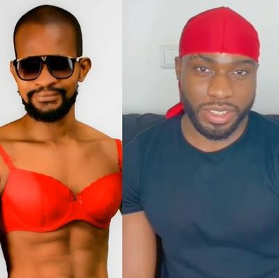"""I no be your mate. I was gay before you were born""- Uche Maduagwu replies Bolu Okupe"