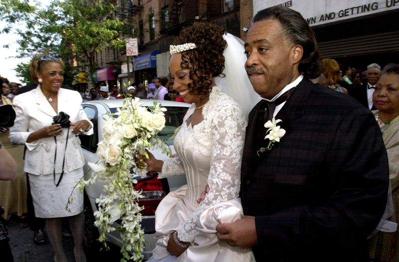 American civil rights activist, Rev. Al Sharpton files for divorce from wife after 17 years of separation 1