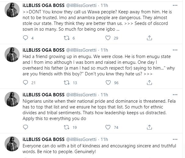 Rapper Illbliss laments over segregation among Igbos 1