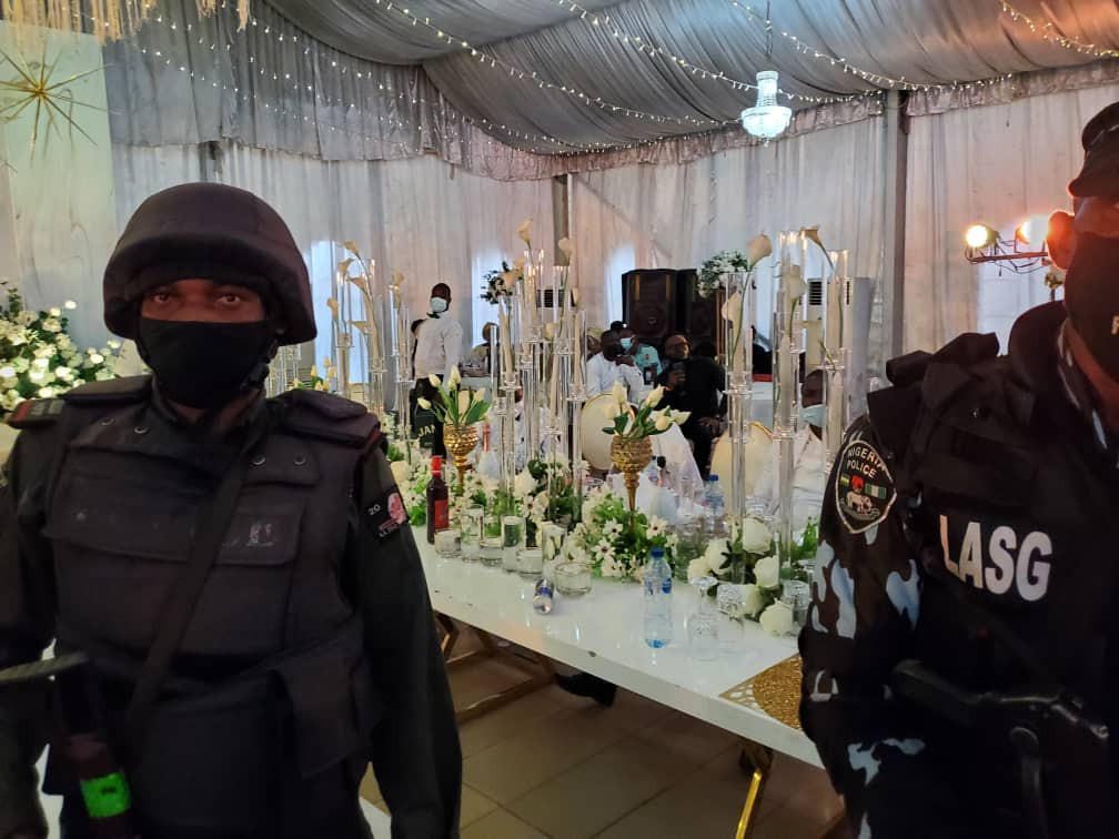 76 persons arrested at a midnight birthday party in Lagos