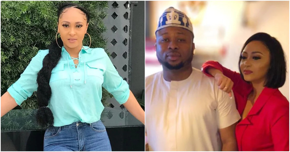 Tonto Dikeh's ex-husband Olakunle Churchill reveals that he's been married to his PA Rosy Meurer for two years