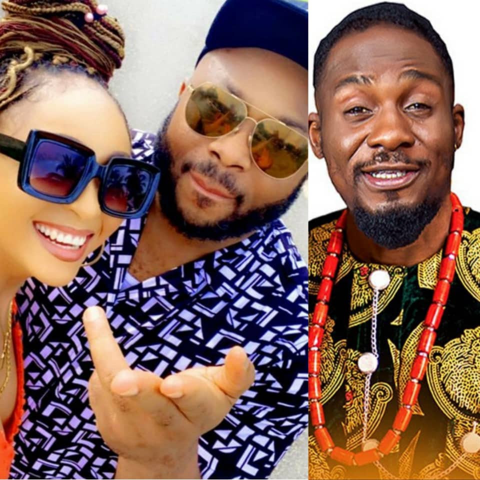 This is not something to be proud of - Actor Junior Pope reacts to actress Rosy Meurer's marriage to Tonto Dikeh's ex husband, Olakunle Churchill