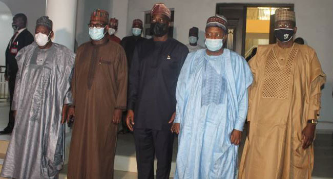 Shasha crisis: Northern Governors arrive Oyo state, meet Governor Makinde behind closed doors