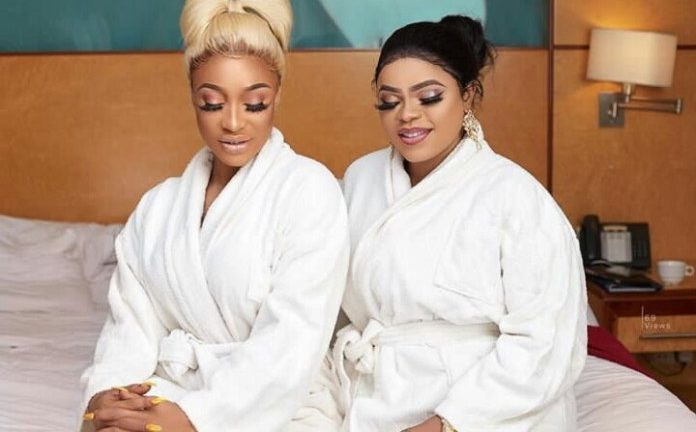 I will stay loyal to you even though you are upset with me because I was rude to you - Bobrisky tells Tonto Dikeh