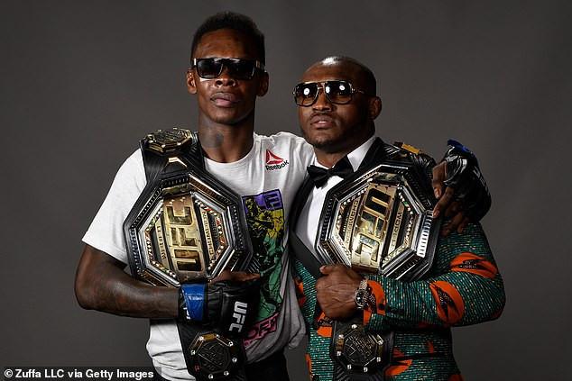 UFC champion Kamaru Usman reveals why he won't fight fellow Nigerian Israel Adesanya