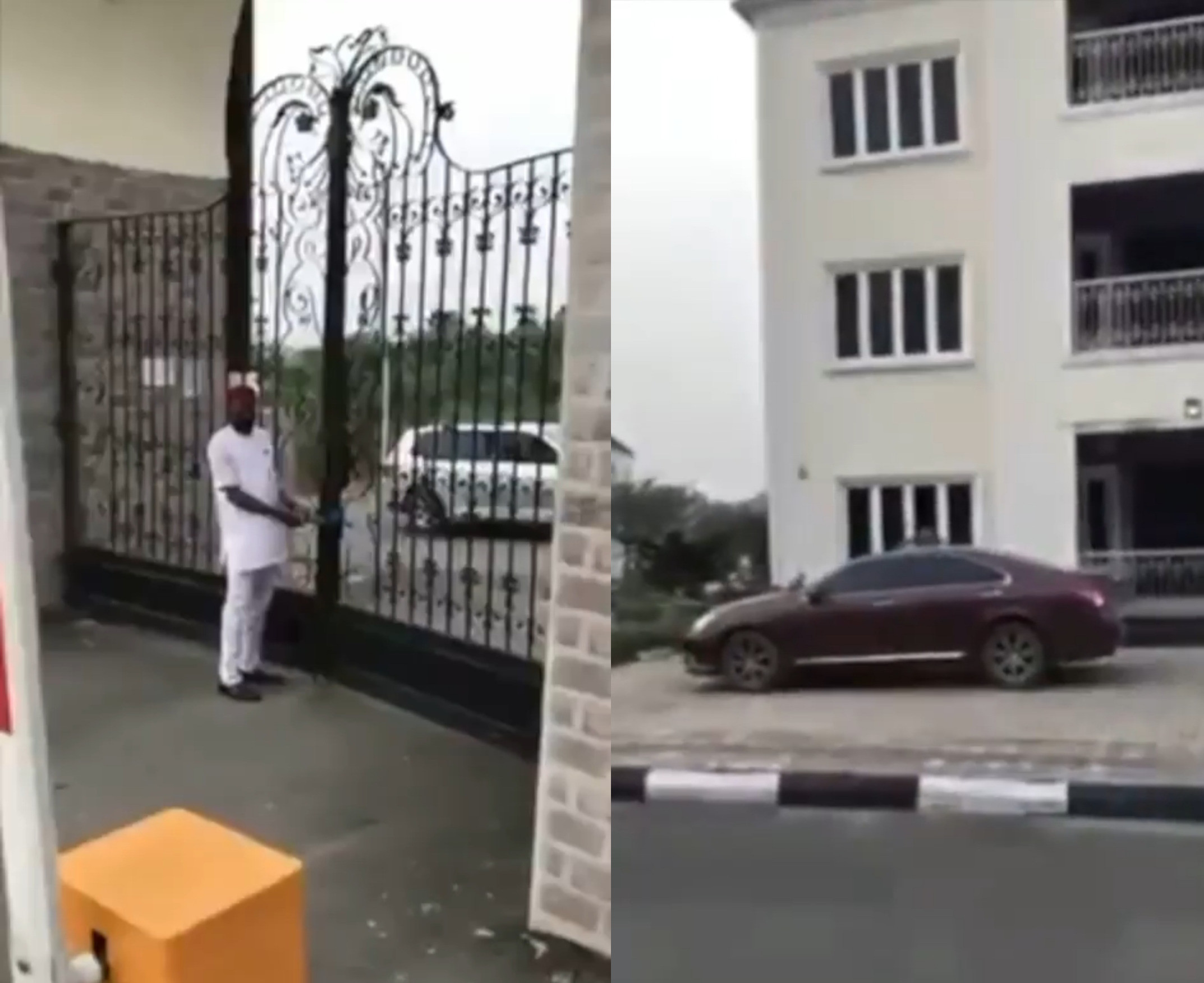 Sporadic shooting as Gov. Hope Uzodinma's security personnel invade Sen Rochas Okorocha's wife's hotel before sealing it off (video)