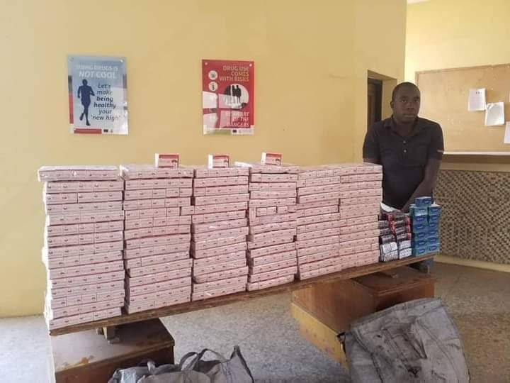 NDLEA arrest suspected illicit drug dealer with Tramadol and Diazepam tablets worth over N50m in Adamawa