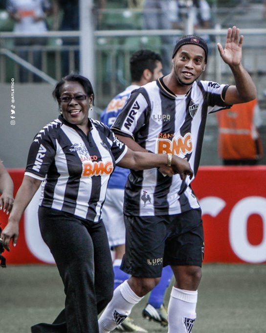 Football star, Ronaldinho's mother dies aged 71 after contracting Covid-19