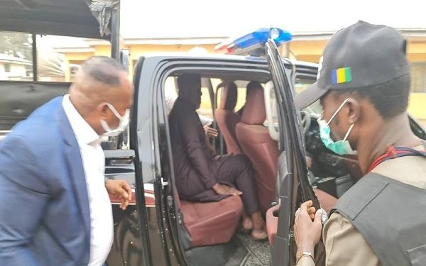6032a427b214b Senator Okorocha arrested for unsealing hotel seized by the Imo state government (photos/Video)