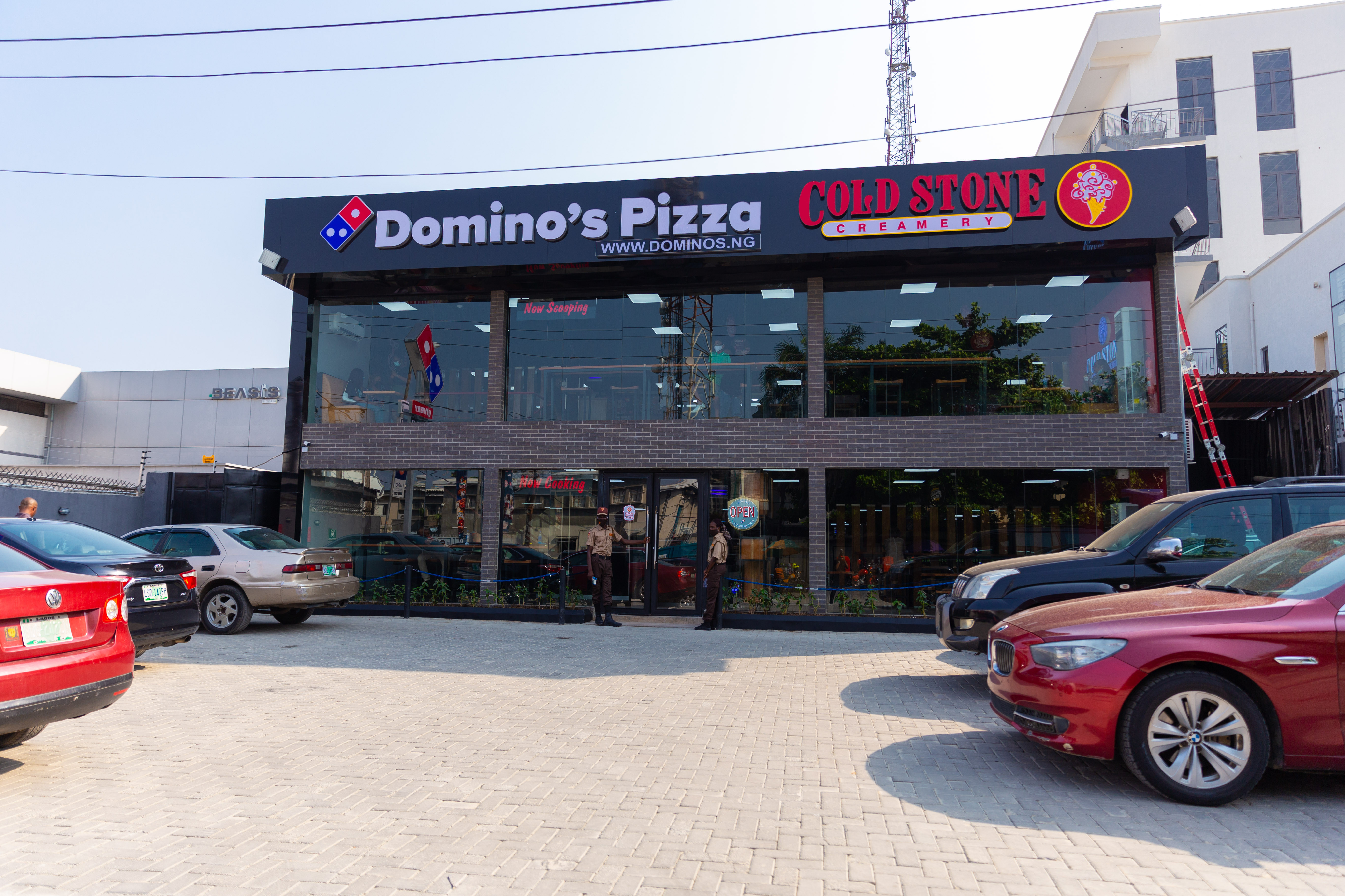 Hello Victoria Island Your Favorite Domino's & Cold Stone Outlet is back bigger and better lindaikejisblog1