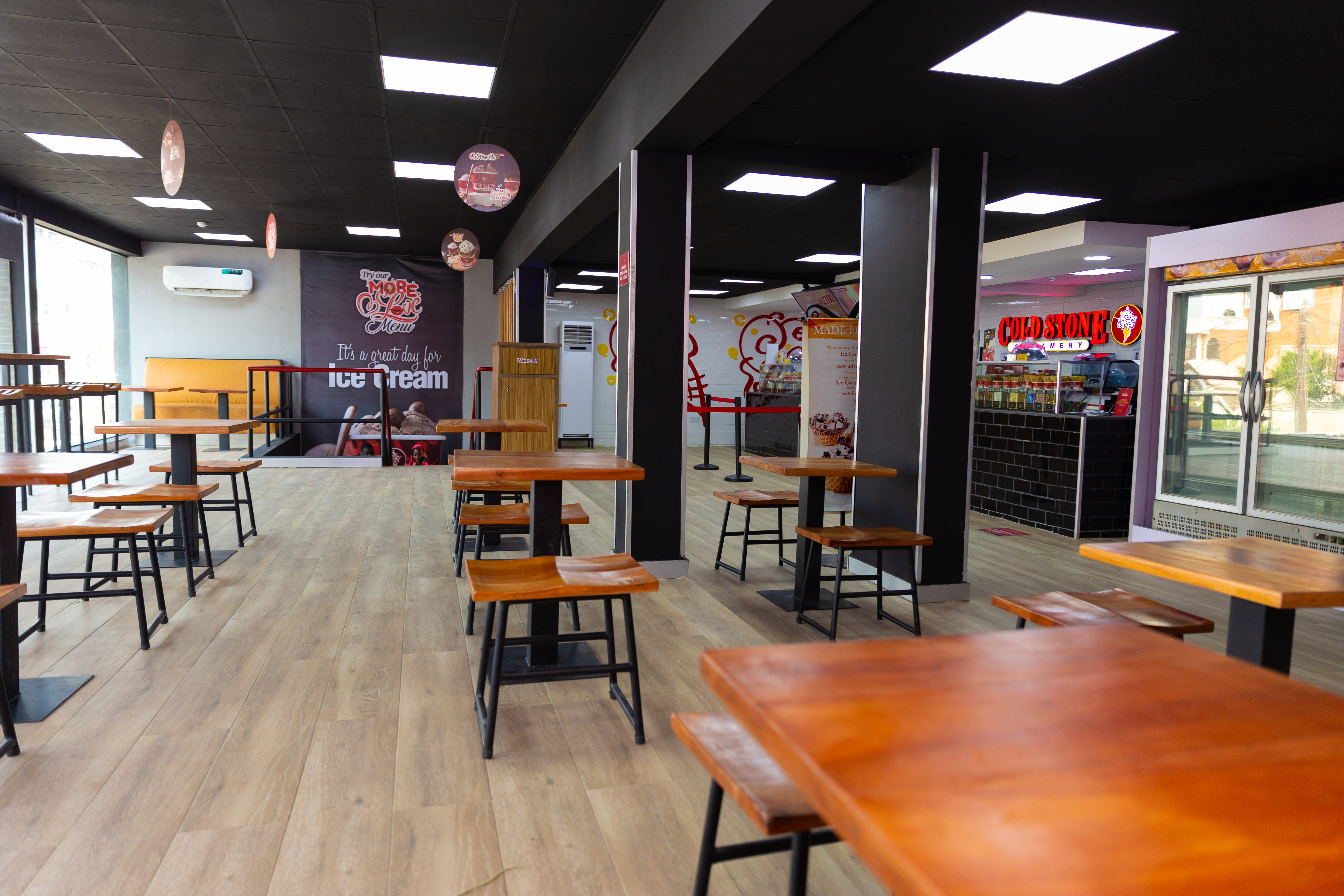 Hello Victoria Island Your Favorite Domino's & Cold Stone Outlet is back bigger and better lindaikejisblog5