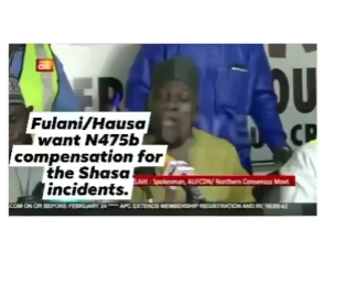 Fulani herdsmen demand for N495b compensation over lives and properties  lost during the #EndSARS and Shasha crisis