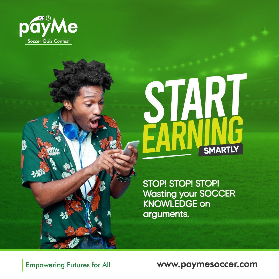 How would you love to win ONE MILLION NAIRA MONTHLY, just for the love and knowledge of soccer
