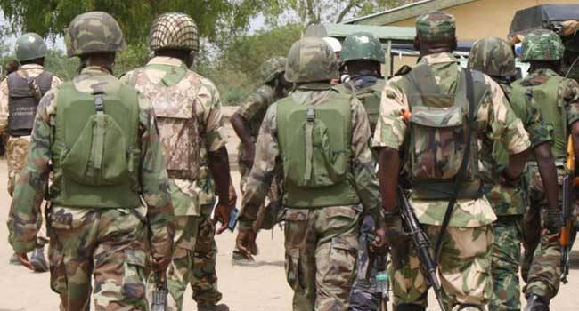 Troops recover Marte after Boko Haram terrorists took over the town and hoisted their flag