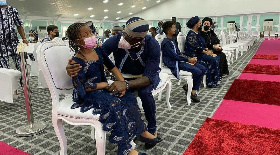 60379368e5118 Tears flow as Peter Okoye's father-in-law is laid to rest (photos/video)