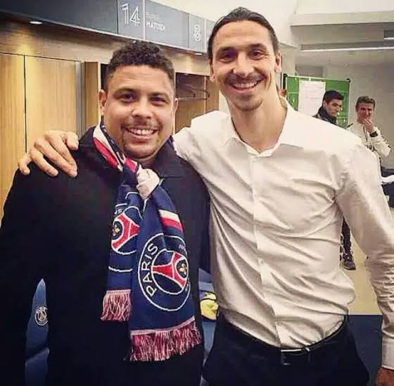 Brazil's Ronaldo is the best player in history - Zlatan Ibrahimovic claims