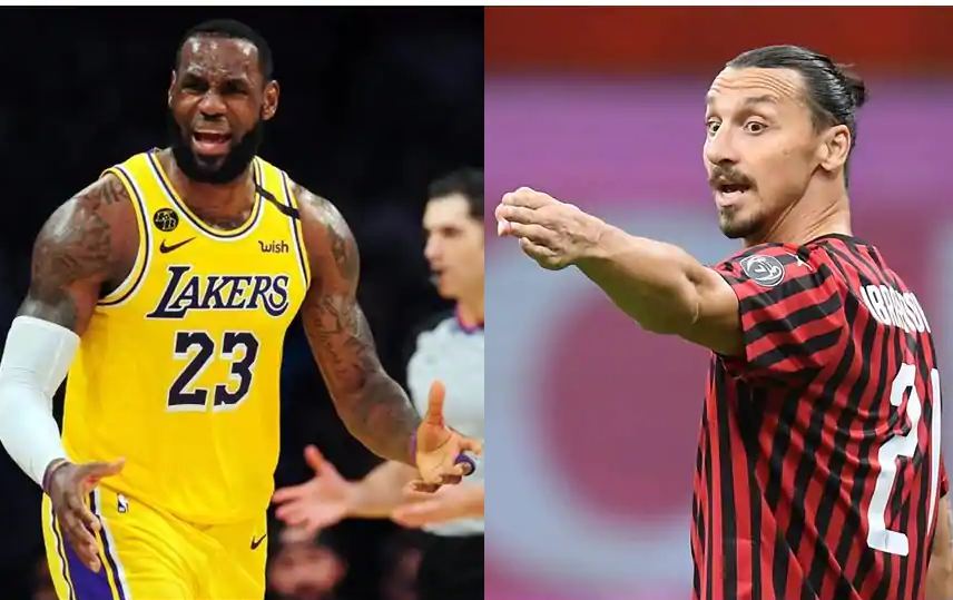 'I'm the wrong guy to go at' - LeBron James responds to Zlatan Ibrahimovic's criticism of his political activism(video)