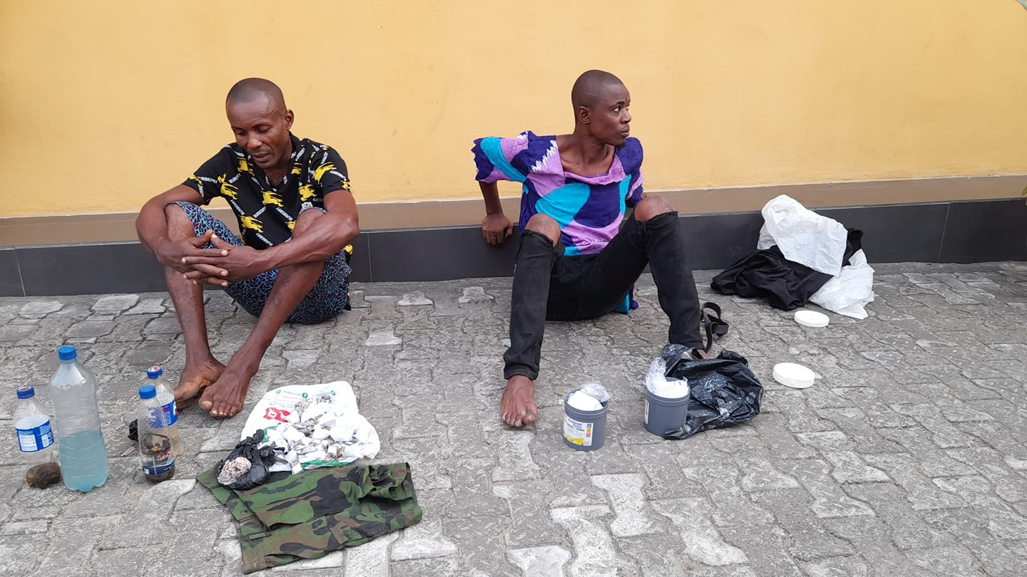 Two suspected drug peddlers arrested in Cross River state