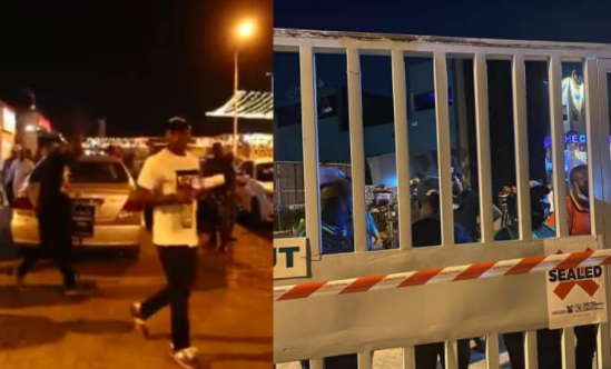 Police arrest over 200 at Cubana Night Club for violation of COVID-19 protocols