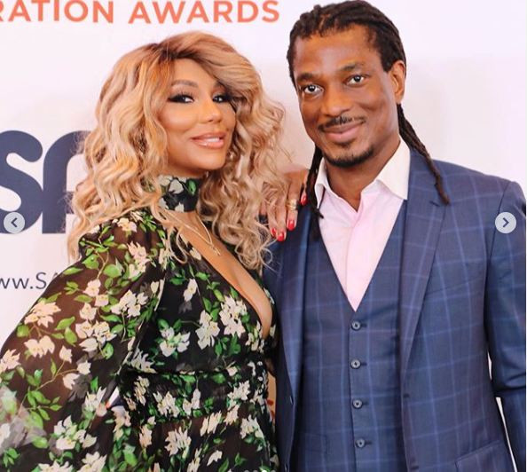 David Adefeso's restraining order against his ex Tamar Braxton is dissolved after they failed to appear in court