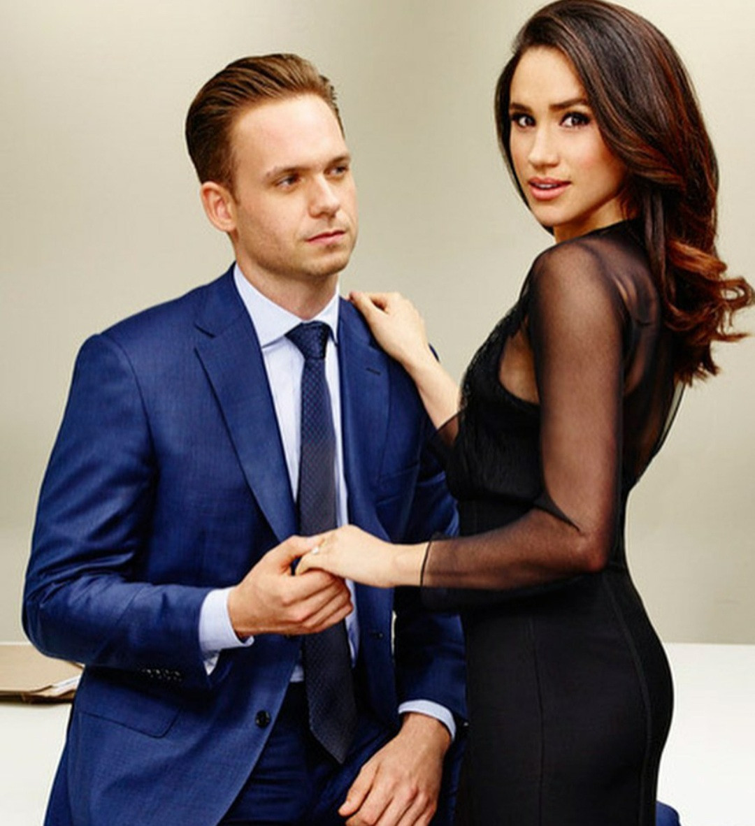 Meghan Markle's Suits on-screen husband, Patrick Adams, blasts royal family and the British media as he defends the Duchess of Sussex