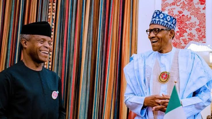 'A reliable and dedicated deputy'- President Buhari celebrates VP Yemi Osinbajo as he turns 64