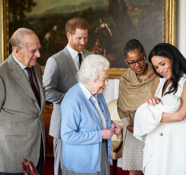 """""""Can you just tell them the truth?"""" Meghan Markle says royal family kept silent when the press vilified her for not doing a photo op after her son's birth like other royals"""